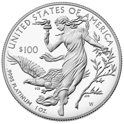 American Platinum Eagle - 1 Oz Torches of Liberty (2.)