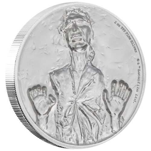 Han Solo™ - 2 Oz STAR WARS™ - Ultra High Relief (2.)
