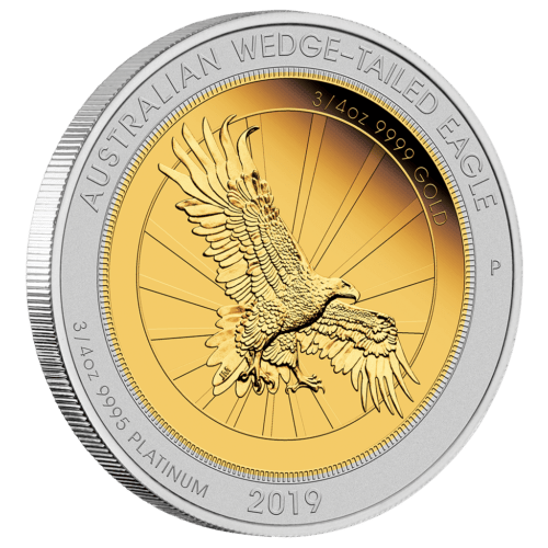 Wedge-tailed-Eagle - 1,5 Oz Design John M. Mercanti